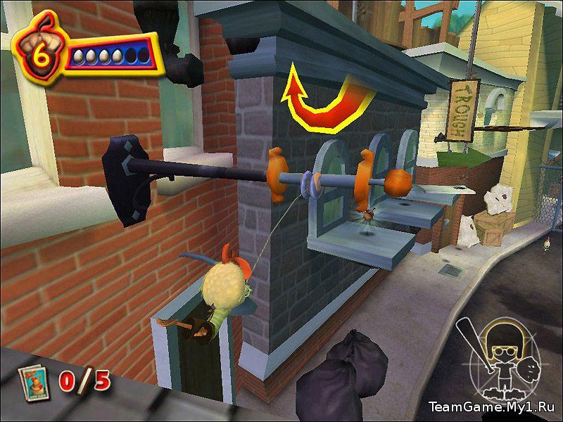 Цыпленок Цыпа / Chicken Little The Game (2005) PC